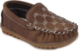 N Five Boys & Girls Slip-on Flats (Brown...