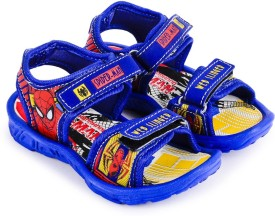 Spiderman Boys Sling Back Sports Sandals(Blue)