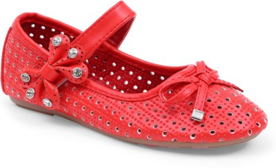 Lilliput Girls Red Flats(Pack of1)