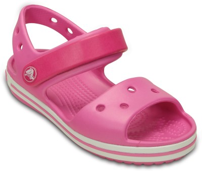 Crocs Boys & Girls Sling Back Clogs(Pink)