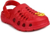 11e Boys & Girls Slip-on Clogs (Red)