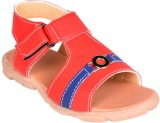 Snappy Boys Sling Back T-bar Sandals (Re...