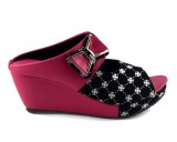Parv Collections Girls Slip-on Wedges (P...