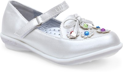 Lilliput Girls Silver Flats(Pack of1)