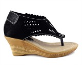 Parv Collections Girls Slip-on Wedges (B...