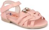 N Five Girls Buckle Flats (Pink)