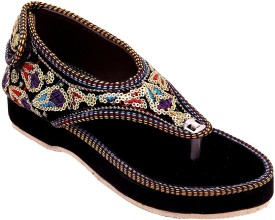 Swag Girls Slip-on Flats(Black)