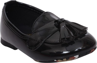 Doink Girls Slip on Casual Boots(Black)