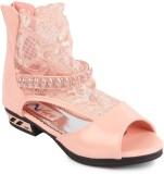 N Five Girls Sling Back Flats (Pink)