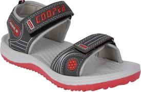 Fiesta Boys & Girls Slip-on Sports Sandals(Red)