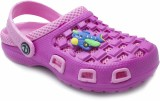 Phedarus Girls Sling Back Clogs (Pink)