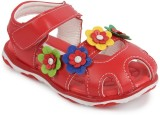 N Five Girls Buckle Flats (Red)
