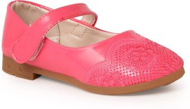 N Five Girls Buckle Flats(Red)