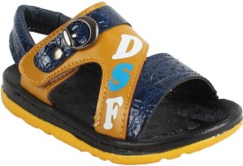 Foot Frick Boys & Girls Sling Back Sports Sandals(Blue)