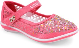 Lilliput Girls Sling Back Flats(Pink)