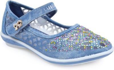 Lilliput Girls Blue Flats(Pack of1)