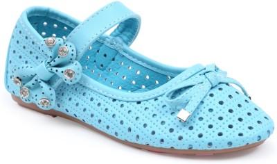 Lilliput Girls Light Blue Flats(Pack of1)