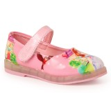 N Five Girls Buckle Flats (Pink)