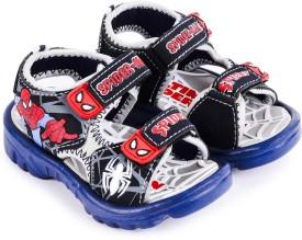 Spiderman Boys Sling Back Sports Sandals(Grey)