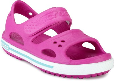 Crocs Boys Slip-on Sports Sandals(Pink)