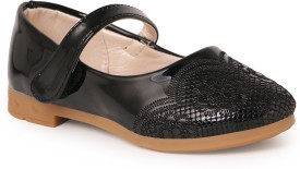 N Five Girls Buckle Flats(Black)