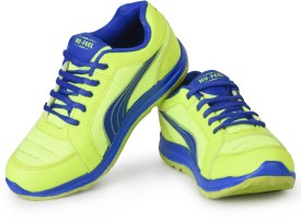 Nu Feel Boys Lace Running Shoes(Blue)