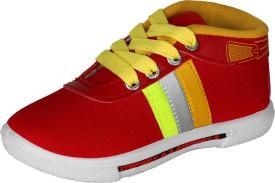 Aiken Boys & Girls Lace Sneakers(Multicolor)
