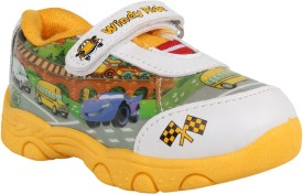 Windy Boys & Girls Velcro Casual Boots(Multicolor)