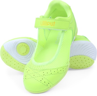 Lilliput Girls Green Sneakers(Pack of 1)