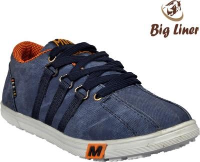 Big Liner Boys Blue Sneakers(Pack of 1)