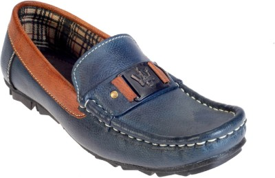 Khadims Boys Slip on Loafers(Blue)
