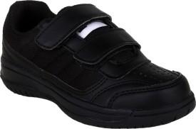 Fuel Boys Velcro Formal Boots(Black)