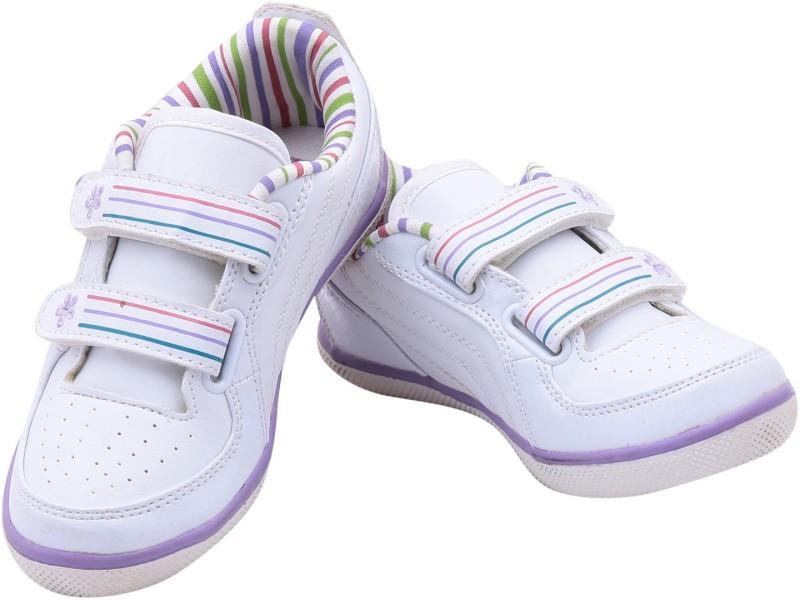 Escan Boys & Girls Slip on Running Shoes(Multicolor)