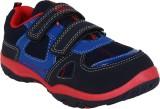 Myau Boys & Girls Velcro Sneakers (Black...