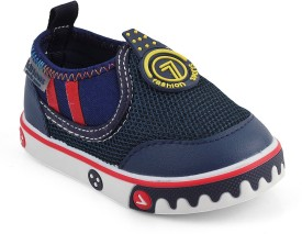 Kittens Boys Slip on Clogs(Dark Blue)