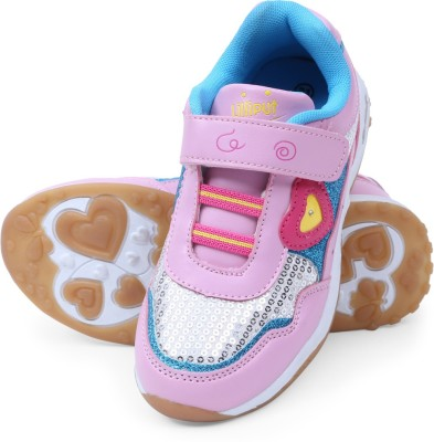 Lilliput Girls Multicolor Sneakers(Pack of 1)