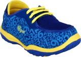 Myau Boys & Girls Lace Sneakers (Blue)