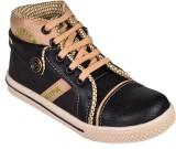 Trilokani Boys Lace Sneakers (Black)
