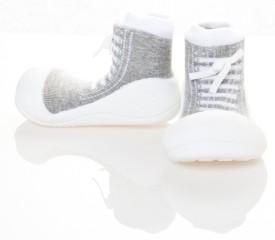 ATTIPAS Boys & Girls Slip on Walking Shoes(Grey)
