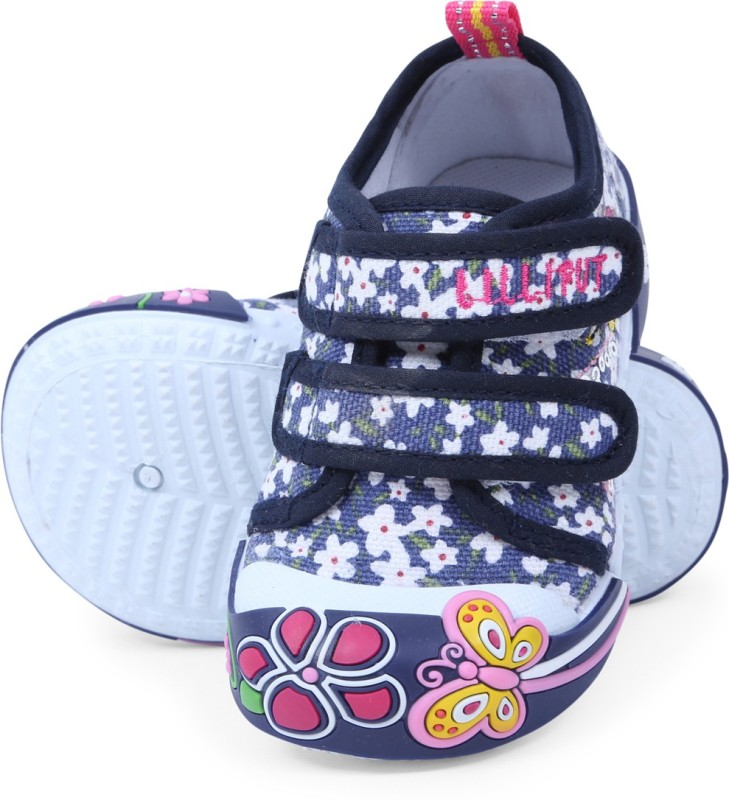 Lilliput Girls Velcro Sneakers(Multicolor)