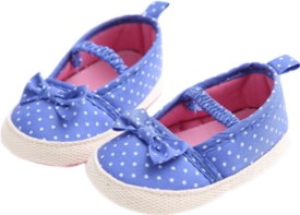 abdc kids Girls Slip on Casual Boots(Blue)