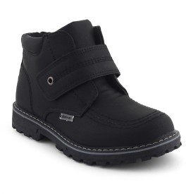 Kittens Boys Lace Casual Boots(Black)