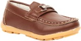 Foot Candy Boys Slip on Loafers (Brown)