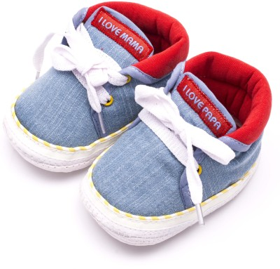 Infano Boys & Girls Blue Sneakers(Pack of 1)