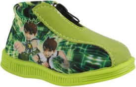 Windy Boys & Girls Slip on Casual Boots(Green)