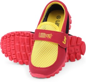 Lilliput Boys Velcro Loafers(Multicolor)