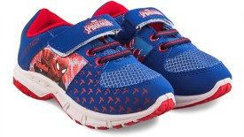 Spiderman Boys Velcro Casual Boots(Blue)
