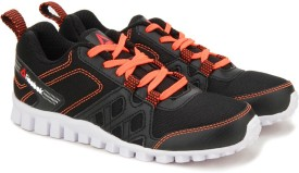 Reebok Boys Running Shoes(Black)