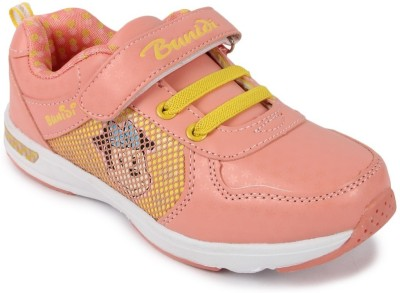 N Five Girls Velcro Casual Boots(Pink)