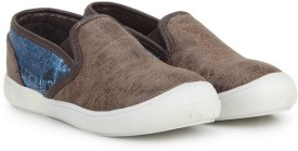 Knotty Derby Boys & Girls Slip on Loafers(Brown)